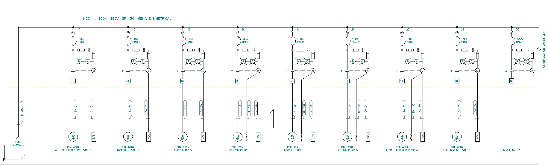 An Electrical Design Software For Automatic One Line Diagrams - Electrical Line Diagram