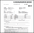 A thumbnail representation of a cable termination ticket generated by the GSN Cable Management System designed to track the installation and revision information for each cable on a project.
